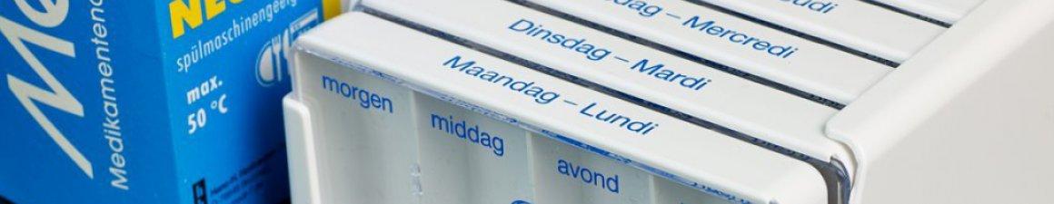 Individuele medicatieverdeling medicatiedoos apotheek Schilde