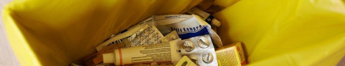Vervallen medicatie binnenbrengen in de apotheek