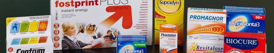Vitamines, tonica in de apotheek