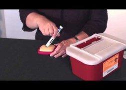 Inspuitbare medicatie - gebruik Enbrel-inspuiting